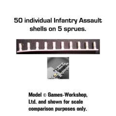 Spent Shell Casings - Infantry Assault