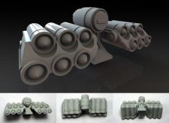 Missile Pods - 6 Open