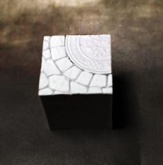 25mm Display Cube - Town Square #1