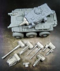 6x6 Rapid Assault Vehicle
