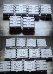 40mm Objective Markers - Super Secret