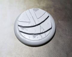 50mm Round Lip Base #1 - Alien Temple