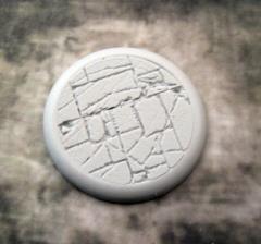 50mm Round Lip Base #4 - Flagstone
