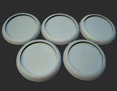40mm Round Lip Bases - Hollow Blanks