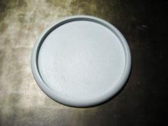 80mm Round Lip Base - Hollow Blank