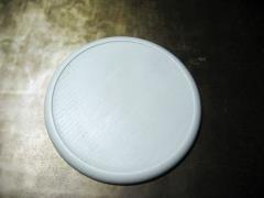 80mm Round Lip Base - Solid Blank