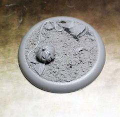 50mm Round Lip Base #1 - Field of Screams