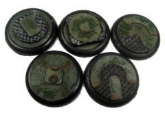 40mm Round Lip Bases - Iron Deck