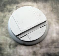 50mm Round Lip Base #2 - Flight Deck