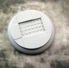 50mm Round Lip Base #3 - Flight Deck