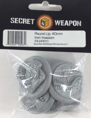 40mm Round Lip - Iron Invasion