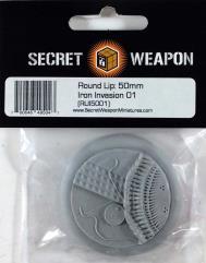 50mm Round Lip - Iron Invasion 01