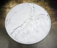 120mm Round Lip Base - Lava Flow