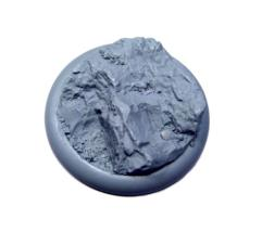 50mm Round Lip Base #1 - Rocky Bluff