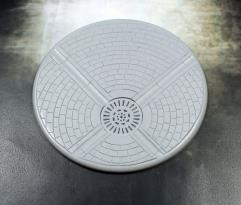 120mm Round Lip Base - Sewer Works
