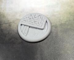 50mm Round Lip Base #2 - Sewer Works