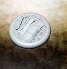 50mm Round Lip Base #1 - Scrap Yard