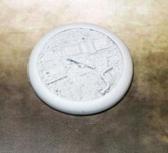 50mm Round Lip Base #2 - Scrap Yard