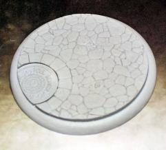 80mm Round Lip Base - Town Square