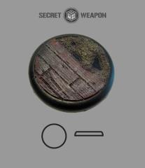 50mm Round Lip Base #1 - Trench Works