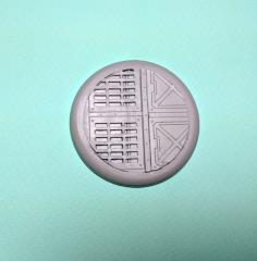 50mm Round Lip Base - Warp Core #3