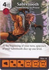 Sabretooth - Something to Prove