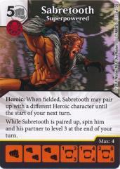 Sabretooth - Superpowered
