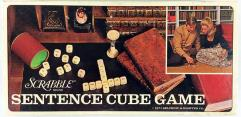 Scrabble - Sentence Cube Game
