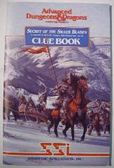 Secret of the Silver Blades - Clue Book