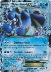 Seismitoad EX (Ultra R) #20 (Holo)