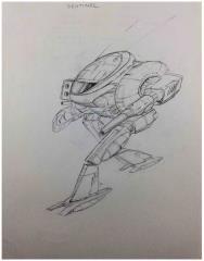 Technical Readout 2750 - Sentinel Concept Art