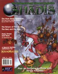 "#43 ""Holiday Adventure for Harn, Shadowrun Adventure"""