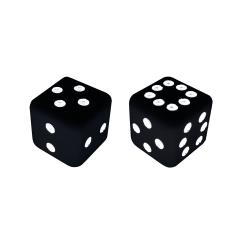 Sicherman Dice - Black (2)
