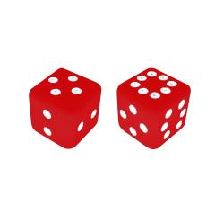 Sicherman Dice - Red (2)