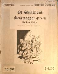 Of Skulls and Scrapfaggot Green (3rd Printing)