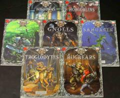 Slayer's Guide to Monstrous Humanoids Collection - 7 Books!