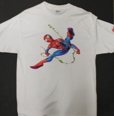 Spider-Man Swinging T-Shirt (XXL)