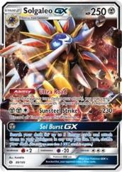 Solgaleo GX (Ultra R) #89 (Holo)