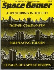 "#73 ""Thieves' Guild/Haven, Roleplaying Tolkien, Globbo, Talisman"""