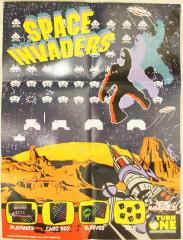 Space Invaders Supplies Promo Poster