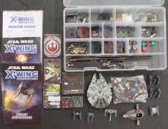 X-Wing Miniatures Collection #10 - 2 Base Games + 10 Additional Ships!