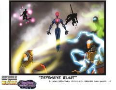 Shattered Timelines - Defensive Blast