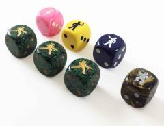 Survivor Dice - Human Set (7)
