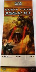 Promo Poster - Begin Your Assault w/Basilisk War Droid