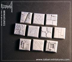 20mm Classic Castle Floor - Square Bases (10)