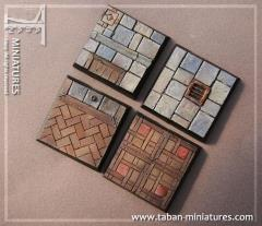 40mm Classic Castle Floor - Square Bases (4)