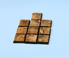 20mm Derelict Castle - Square Bases (10)