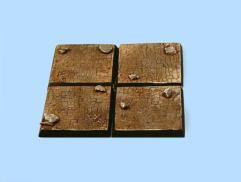 40mm Derelict Castle - Square Bases (4)