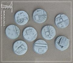 25mm Factory - Round Bases (10)
