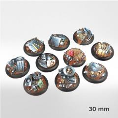 30mm Machine Scrapyard Bases (10)